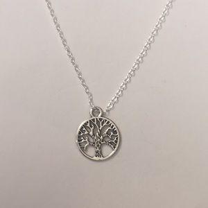 3/$30 Circular Tree Pendant Necklace
